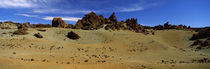 Rocks on an arid landscape, Pico de Teide, Tenerife, Canary Islands, Spain by Panoramic Images