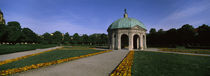 Pavilion for the Goddess Diana in a garden, Hofgarten, Munich, Bavaria, Germany by Panoramic Images