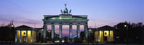Brandenburg Gate, Berlin, Germany by Panoramic Images