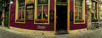 Facade of a restaurant, Patershol, Ghent, East Flanders, Flemish Region, Belgium von Panoramic Images