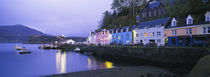 Buildings On The Waterfront, Portree, Isle Of Skye, Scotland, United Kingdom von Panoramic Images