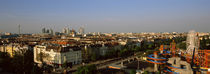 High angle view of a city, Vienna, Austria von Panoramic Images