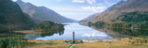 Loch Shiel Glenfinnan Monument, Reflection of cloud in the lake by Panoramic Images