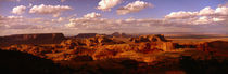 Panorama Print - Monument Valley, Arizona, USA von Panoramic Images