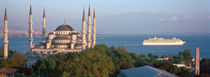 Blue Mosque Istanbul Turkey by Panoramic Images