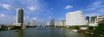 Chao Phraya River, Bangkok, Thailand by Panoramic Images
