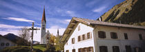 Low Angle View Of A Church, Holzgau, Lechtal, Austria von Panoramic Images