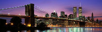 Brooklyn Bridge New York NY USA von Panoramic Images