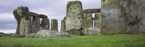 Rock formations of Stonehenge, Wiltshire, England by Panoramic Images