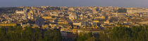 High angle view of a cityscape at dusk, Rome, Lazio, Italy von Panoramic Images