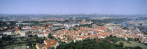 Aerial view of a city, Prague, Czech Republic by Panoramic Images
