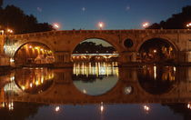 The Tiber in Rome by Julie Hewitt