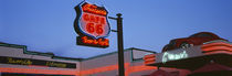 Low angle view of a road sign, Route 66, Arizona, USA von Panoramic Images