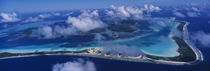 Aerial View Of An Island, Bora Bora, French Polynesia by Panoramic Images