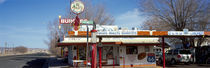 Restaurant on the roadside, Route 66, Arizona, USA by Panoramic Images