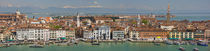 High angle view of a city at the waterfront, Venice, Veneto, Italy by Panoramic Images