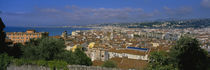 Aerial View Of A City, Nice, France by Panoramic Images