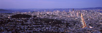 Aerial view of a city, San Francisco, California, USA by Panoramic Images