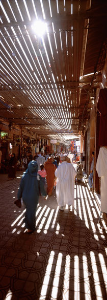 Souk, Marrakech, Morocco by Panoramic Images