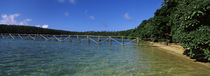 Dock in the sea, Vava'u, Tonga, South Pacific by Panoramic Images