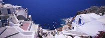 High angle view of buildings, Ammoudi Bay, Oia, Santorini, Greece by Panoramic Images