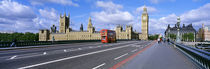 Parliament Big Ben London England by Panoramic Images