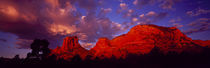 Rocks at Sunset Sedona AZ USA by Panoramic Images