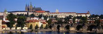 Vltava River, Prague, Czech Republic von Panoramic Images
