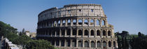 Facade Of The Colosseum, Rome, Italy by Panoramic Images