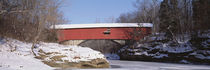 Narrows Covered Bridge Turkey Run State Park IN USA by Panoramic Images
