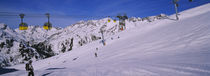 Tourists skiing on snow, Rendl, St. Anton, Austria by Panoramic Images