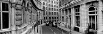 Buildings along a road, London, England by Panoramic Images