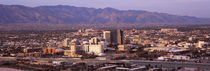 Aerial view of a city, Tucson, Pima County, Arizona, USA by Panoramic Images
