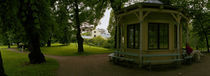 Gazebo in a garden, Royal Palace Gardens, Oslo, Norway by Panoramic Images