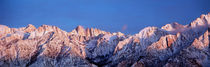 Snow Mt Whitney CA USA by Panoramic Images