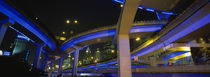 Low Angle View Of Overpasses, Shanghai, China by Panoramic Images