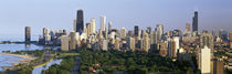 Lincoln Park, Lake Michigan, Chicago, Cook County, Illinois, USA by Panoramic Images
