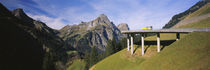 Bridge On Mountains, Mountain Pass, Austria von Panoramic Images