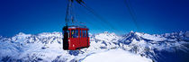 Cable Car Andermatt Switzerland by Panoramic Images