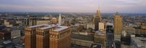 High Angle View Of Buildings In A City, Buffalo, New York State, USA by Panoramic Images
