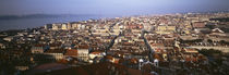 Aerial view of a city, Lisbon, Portugal von Panoramic Images