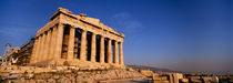 Ruins of a temple, Parthenon, Athens, Greece by Panoramic Images