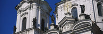 Low angle view of a palace, Presidential Palace, Prague, Czech Republic von Panoramic Images
