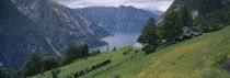 Panorama Print - Eidfjord, Hordaland, Norwegen von Panoramic Images