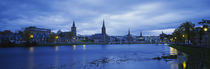 Buildings along the river, Inverness, Scotland by Panoramic Images