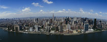 Aerial view of a city, Manhattan, New York City, New York State, USA by Panoramic Images