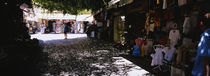 Stores in a market, Rhodes, Greece by Panoramic Images