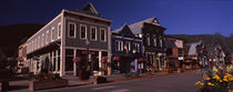 Buildings in a town, Crested Butte, Gunnison County, Colorado, USA by Panoramic Images
