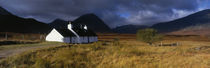 Highlands Cottage, Glencoe, Scotland, United Kingdom von Panoramic Images
