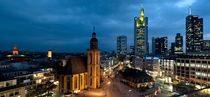 Hauptwache, Frankfurt, Hesse, Germany 2010 by Panoramic Images